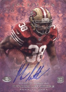 2013 Topps Inception Football Rookie Autographs Guide 11