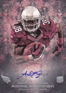 2013 Topps Inception Football Rookie Autographs Guide 12