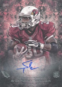 2013 Topps Inception Football Rookie Autographs Guide 32