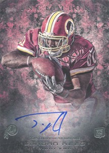 2013 Topps Inception Football Rookie Autographs Guide 13