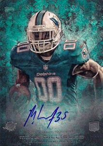 2013 Topps Inception Football Rookie Autographs Guide 34