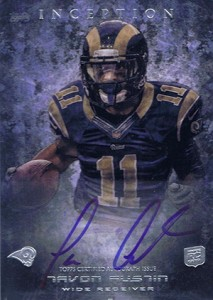 2013 Topps Inception Football Rookie Autographs Guide 15