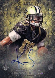 2013 Topps Inception Football Rookie Autographs Guide 35