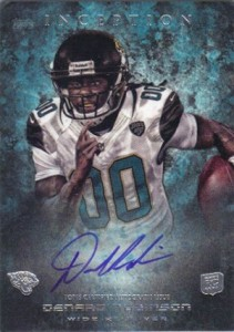 2013 Topps Inception Football Rookie Autographs Guide 16
