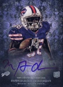 2013 Topps Inception Football Rookie Autographs Guide 36