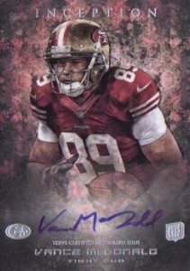 2013 Topps Inception Football Rookie Autographs Guide 17