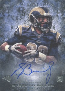 2013 Topps Inception Football Rookie Autographs Guide 38