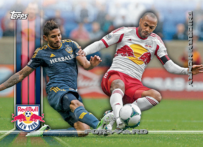 2013 Topps MLS Variations 1 Thierry Henry