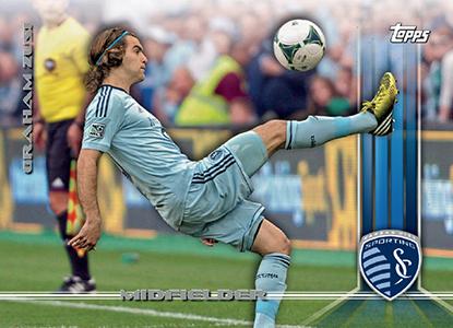 2013 Topps MLS Variations Graham Zusi