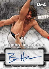 2013 Topps UFC Bloodlines Trading Cards 20