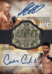 2013 Topps UFC Bloodlines Trading Cards 31