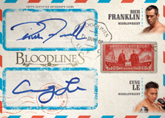 2013 Topps UFC Bloodlines Trading Cards 30