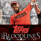 2013 Topps UFC Bloodlines Trading Cards