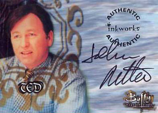 1999 Inkworks Buffy the Vampire Slayer Season 2 Autographs A7 John Ritter as Ted