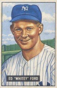 1951 Bowman Whitey Ford RC
