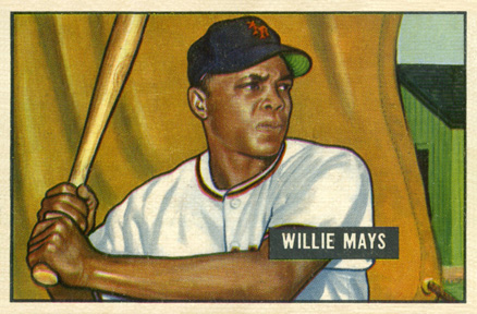 Happy Birthday to The Say Hey Kid! Top 10 Willie Mays Baseball Cards 10