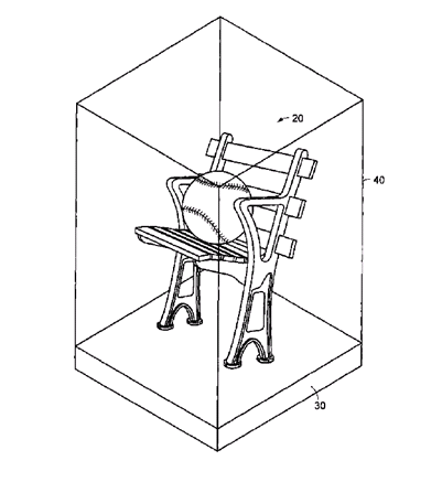 Law of Cards: Finally, A Patented Chair For Your Memorabilia 1