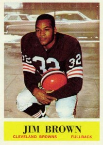 1964 Philadelphia Jim Brown