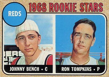 1968 Topps Baseball Cards 25