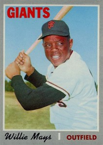 Vintage Willie Mays Baseball Card Timeline: 1951-1974 113