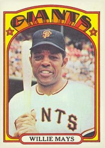 Vintage Willie Mays Baseball Card Timeline: 1951-1974 115