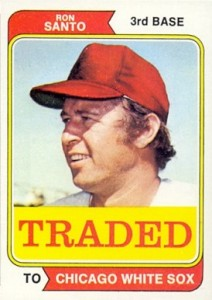 1974 Topps Traded Ron Santo