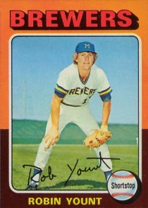 1975 Topps Robin Yount
