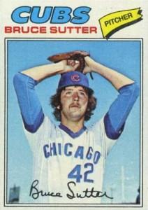 1977 Topps Bruce Sutter