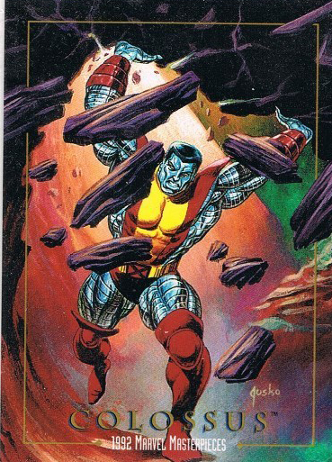 1992 SkyBox Marvel Masterpieces Base Card