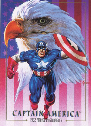 1992 SkyBox Marvel Masterpieces Trading Cards 24