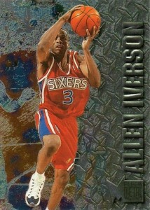 Allen Iverson Card and Memorabilia Guide 25