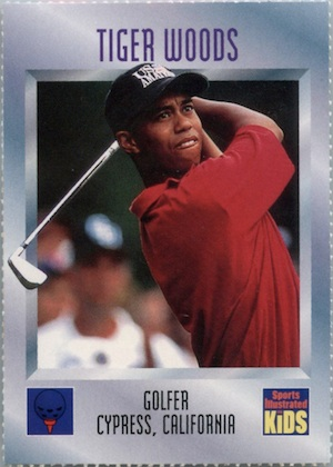 15 Majors for Tiger! Top Tiger Woods Golf Cards 4