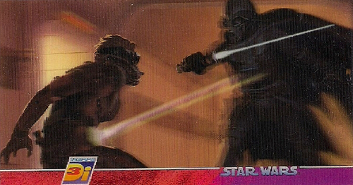 1996 Topps Star Wars 3Di Widevision Trading Cards 23