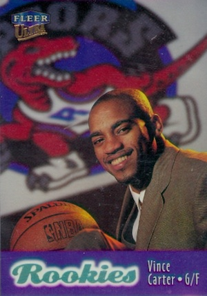 Vince Carter Rookie Cards and Autographed Memorabilia Guide 3