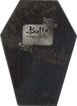 1998 Inkworks Buffy the Vampire Slayer Season 1 Trading Cards 22