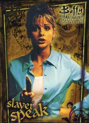 1998 Inkworks Buffy the Vampire Slayer Season 1 Trading Cards 19