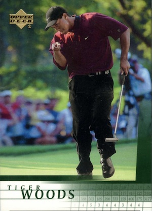Top Tiger Woods Golf Cards to Collect 2