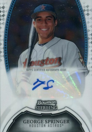 MVP! Top George Springer Rookie Cards and Key Prospects 32