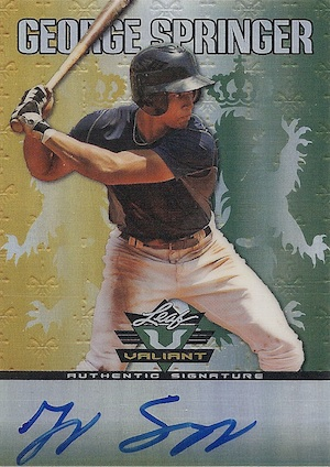 MVP! Top George Springer Rookie Cards and Key Prospects 34