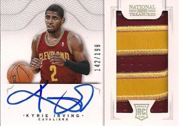 2012-13 National Treasures Basketball Rookie Patch Autographs Guide 1