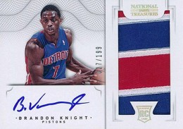 2012-13 National Treasures Basketball Rookie Patch Autographs Guide 7
