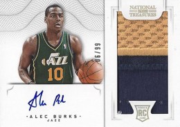 2012-13 National Treasures Basketball Rookie Patch Autographs Guide 11