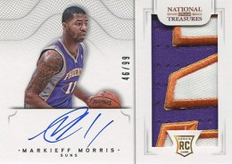 2012-13 National Treasures Basketball Rookie Patch Autographs Guide 12