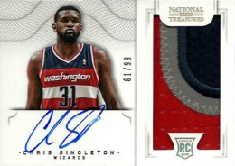2012-13 National Treasures Basketball Rookie Patch Autographs Guide 17
