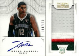 2012-13 National Treasures Basketball Rookie Patch Autographs Guide 18