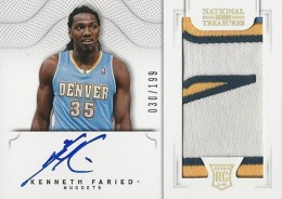 2012-13 National Treasures Basketball Rookie Patch Autographs Guide 20