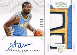 2012-13 National Treasures Basketball Rookie Patch Autographs Guide 23