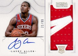 2012-13 National Treasures Basketball Rookie Patch Autographs Guide 24