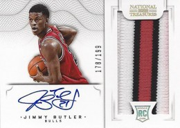 2012-13 National Treasures Basketball Rookie Patch Autographs Guide 27