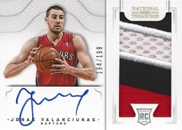 2012-13 National Treasures Basketball Rookie Patch Autographs Guide 30